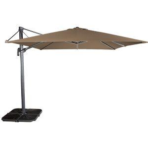 Parasol FLEXO 300x300 Negro