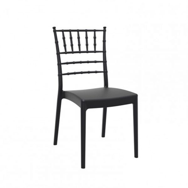 silla Josephine negra
