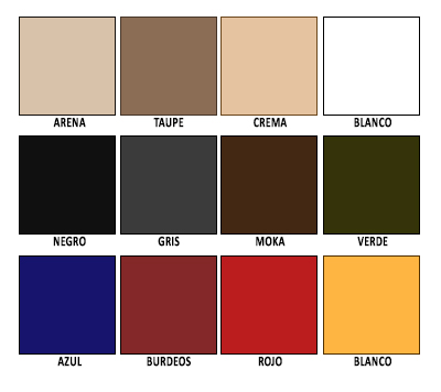 Colorido Tejido OLEFIN 190 gr