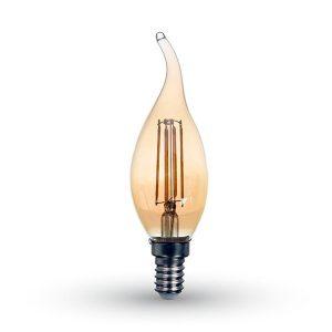 Bombilla Vela Candela Filamento LED Vintage