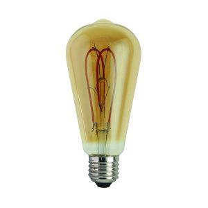 Bombilla Pebetero Filamento LED Vintage