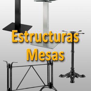 Estructuras para mesas