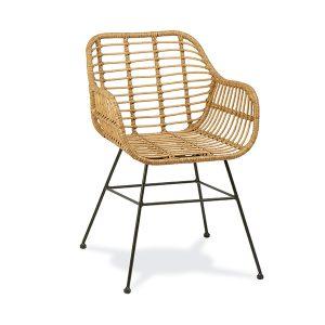 sillón tartan