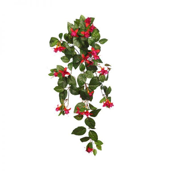 AD0462.03-Fuchsia-de-Colgar-80cm-Rojo