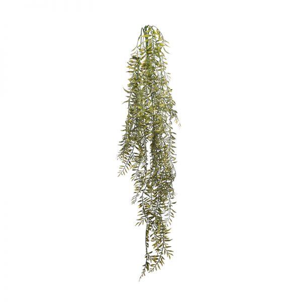Y0371.45-Colgante-Mini-Helecho-Atificial-90cm-Verde-oscuro